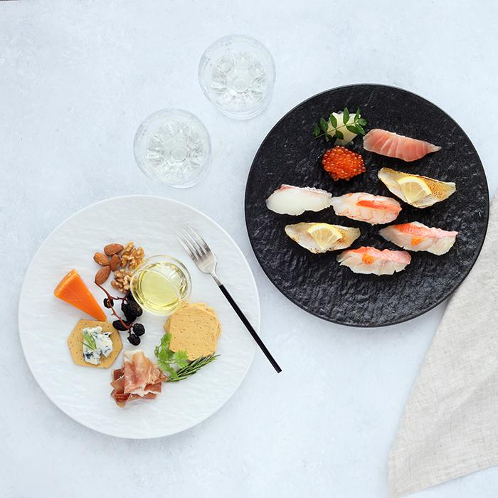食卓を彩る大きめサイズ ディナープレートやパーティ皿に最適