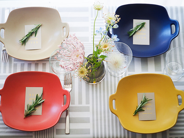 メインディッシュやワンプレート料理も汎用性の高い便利なお皿