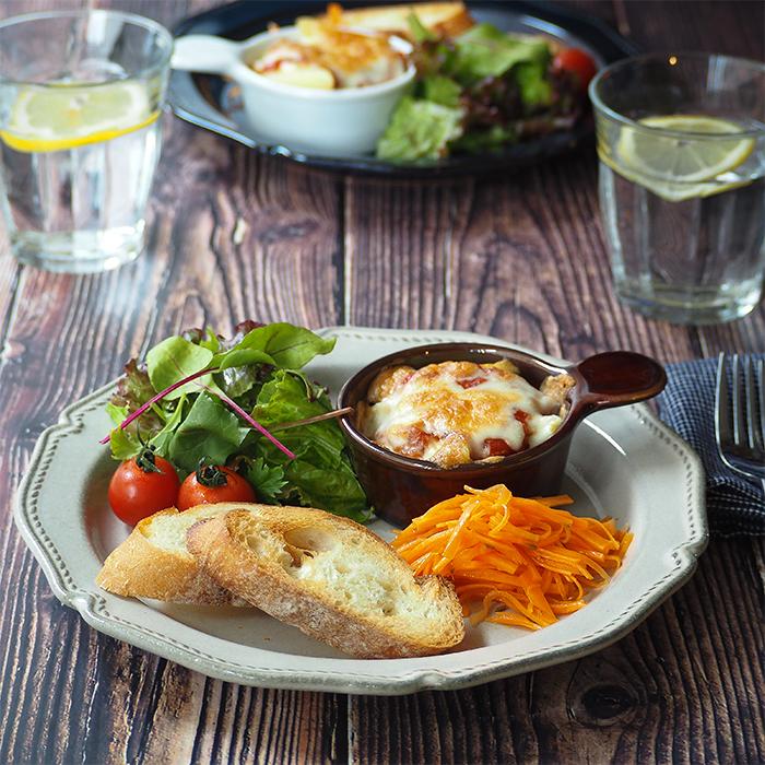 メインディッシュ・ワンプレートもお任せ 汎用性の高い便利な大皿