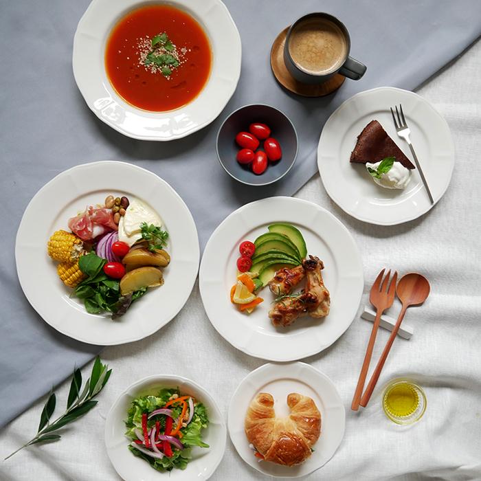 毎日活躍する便利なお皿 使いやすい食器セット