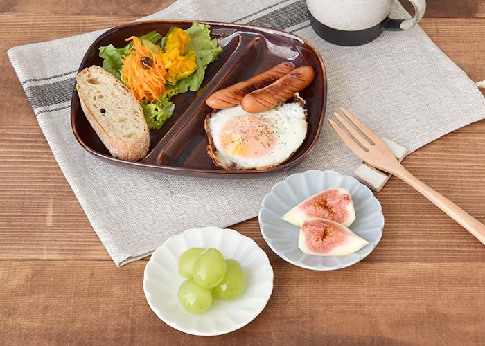 普段の食卓で、タレ皿・醤油皿・漬物皿にも使えます。