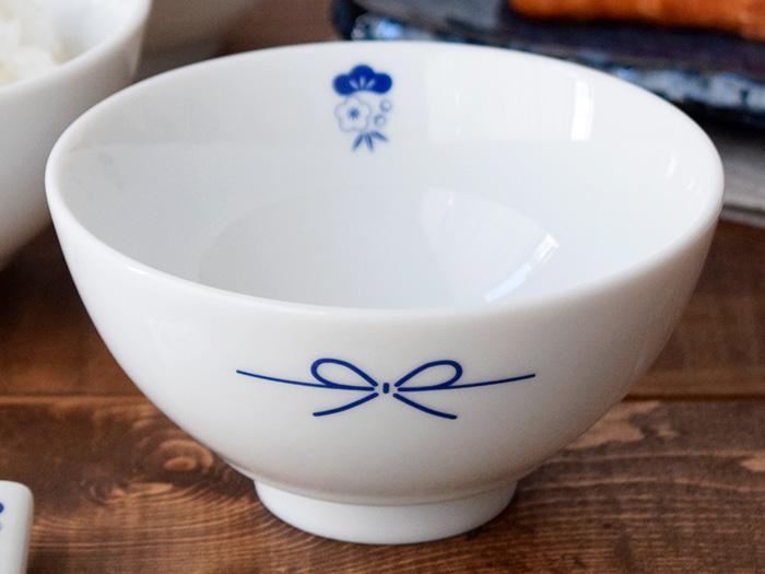 縁起物柄で福を呼ぶお茶碗