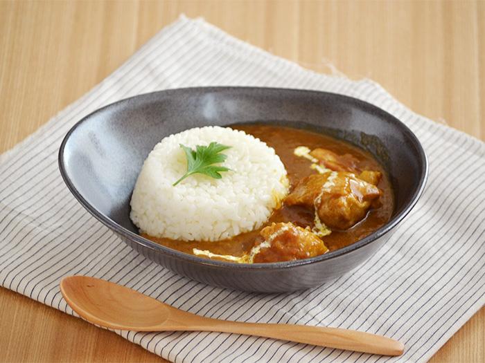 カレー皿 EAST たまご型カリーボウル