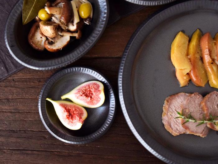 フルーツ皿、おつまみ皿、菓子皿などのちょっとした一品に最適です。