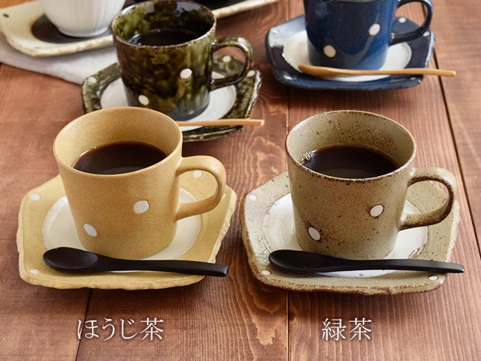 和カフェ カップ&ソーサー 水玉 minoruba