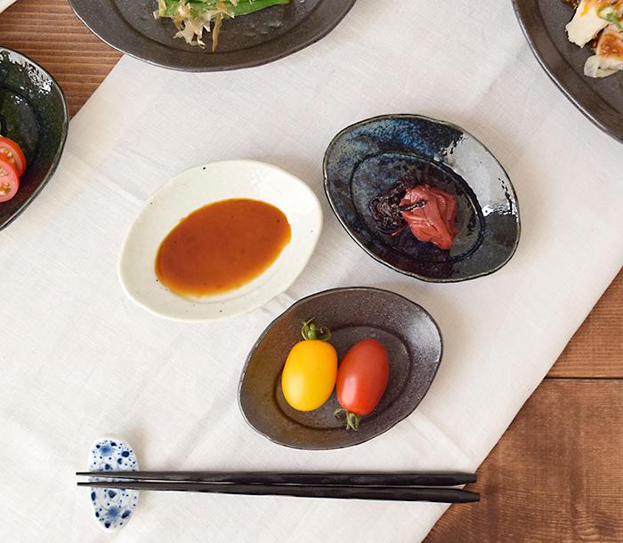 月が浮かぶような形、色艶が美しい和食器です。