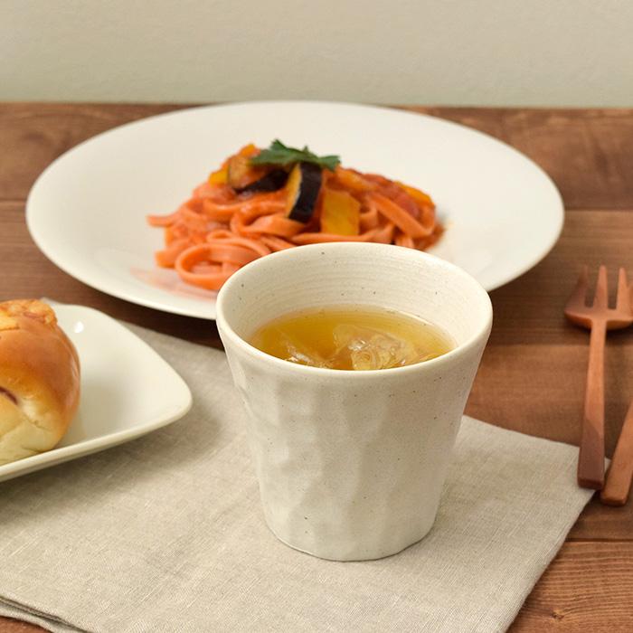 お茶やお酒にもマルチに使える温かな和のロックカップ