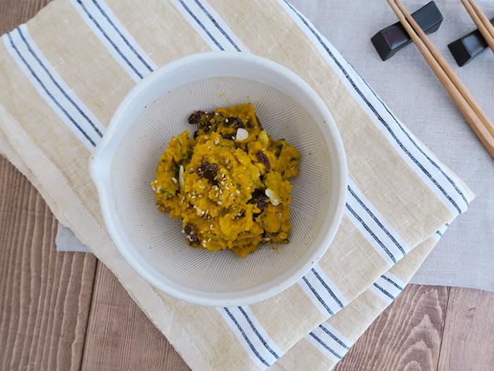 (セット)5寸片口すり鉢(白唐津)、すりこぎ