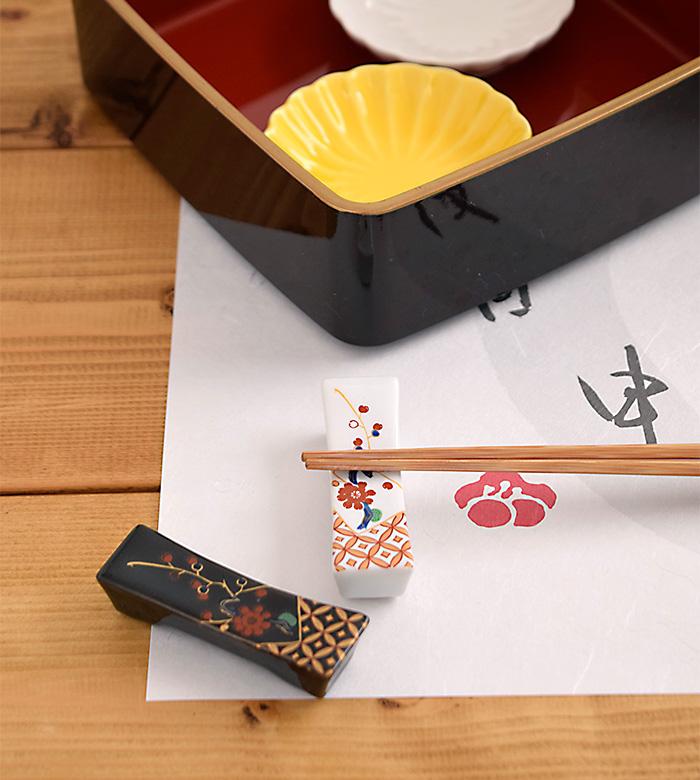 箸置き梅角型