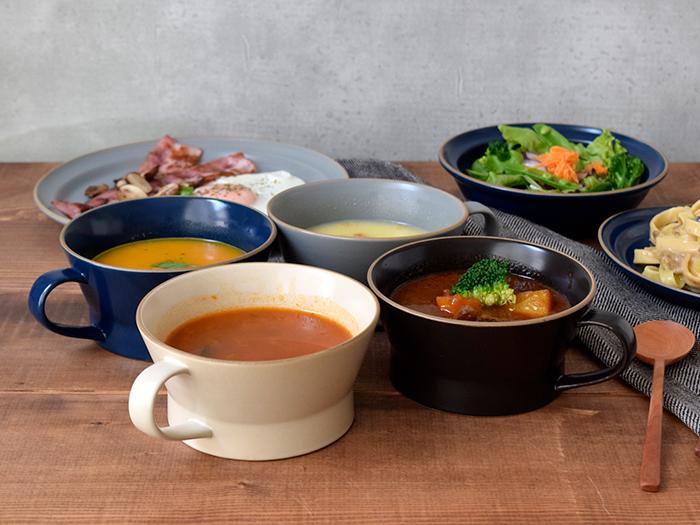 朝昼晩毎日使いたくなる、サブメニューにおすすめのスープカップ。