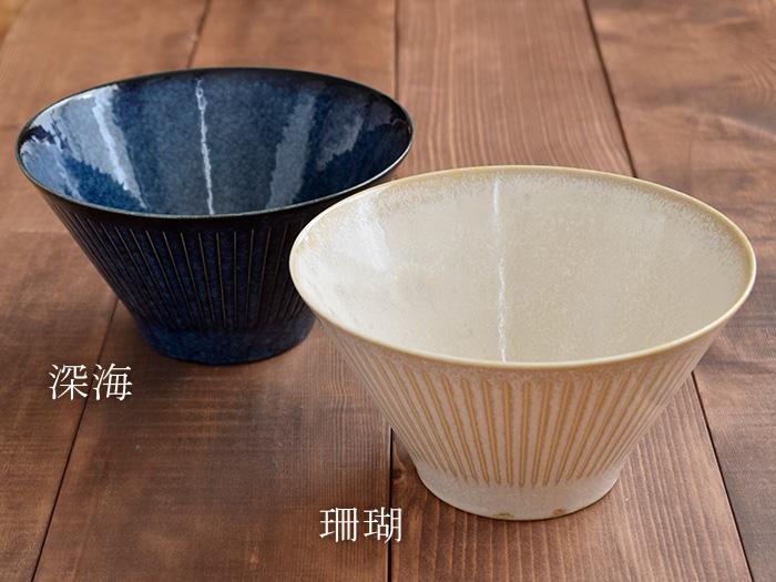 台形マルチボウル(M)彫十草