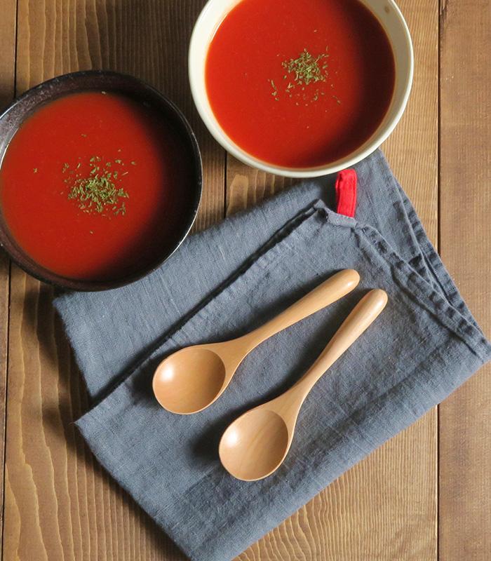 木製スープスプーン(ナチュラル)